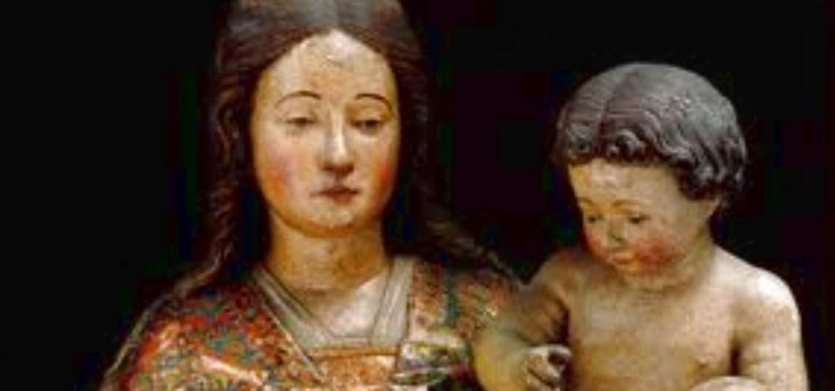 simulacro della Madonna di Bonaria a Cagliari