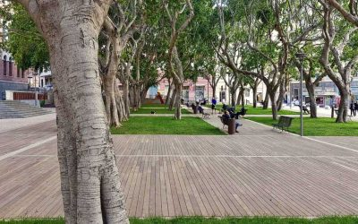 Plaza Garibaldi y Plaza Gramsci
